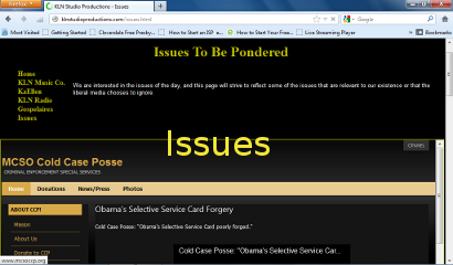Issues Page Photo